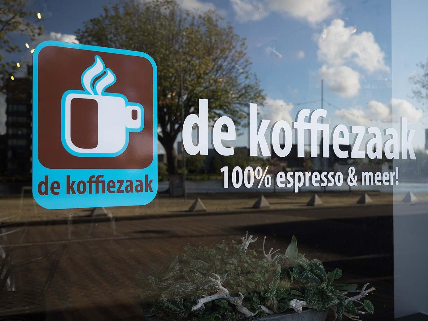 de Koffiezaak in de Zaanbocht