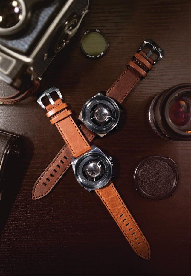 De kast van de TACS Vintage Lens is overduidelijk geïnspireerd op de camera's van vroeger