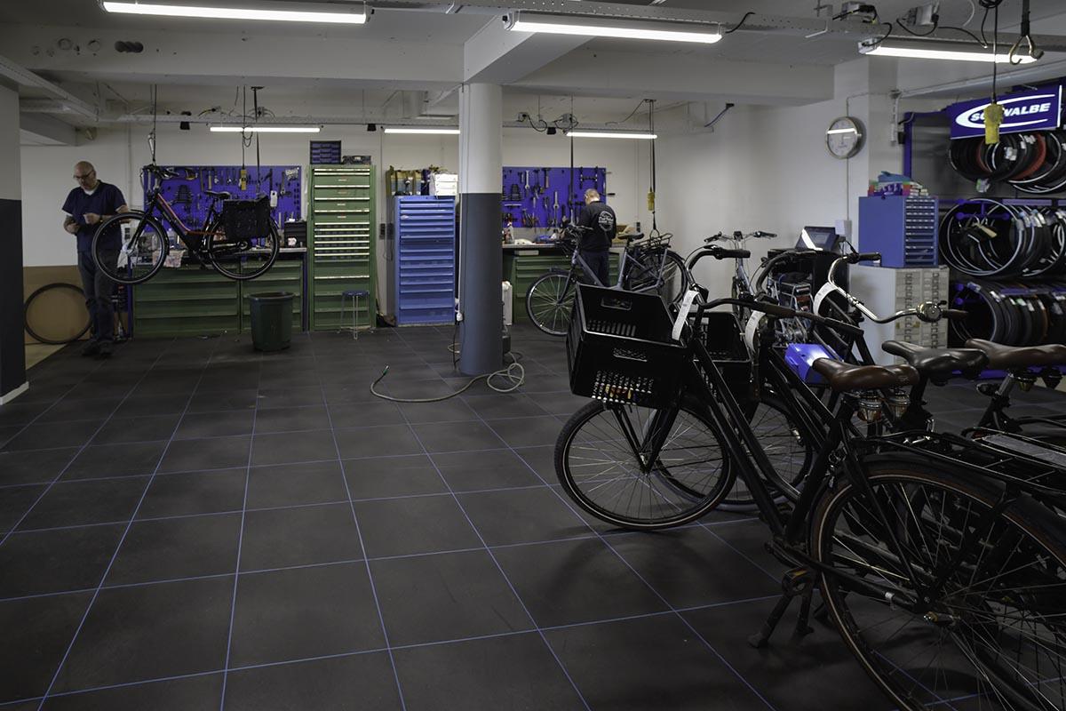 Dirk Visbeek Fietsplezier de werkplaats