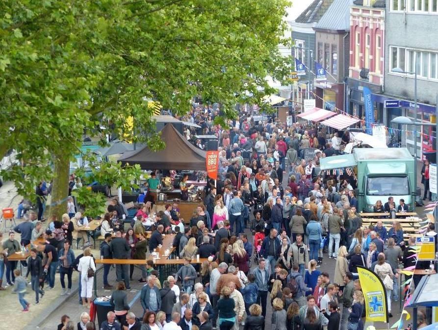 Foodfestival aan de Zaan, in de Zaanbocht Wormerveer