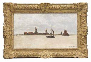 Monet schilderen in de Zaanbocht