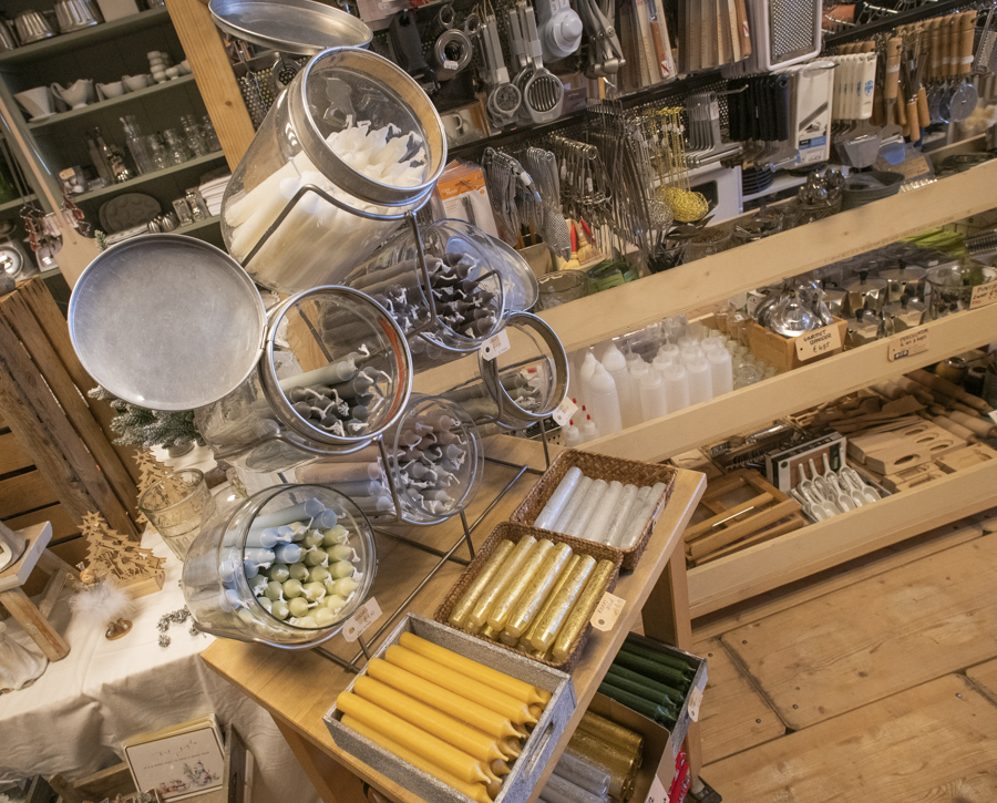 Nostalgische kook- en huishoudelijke producten