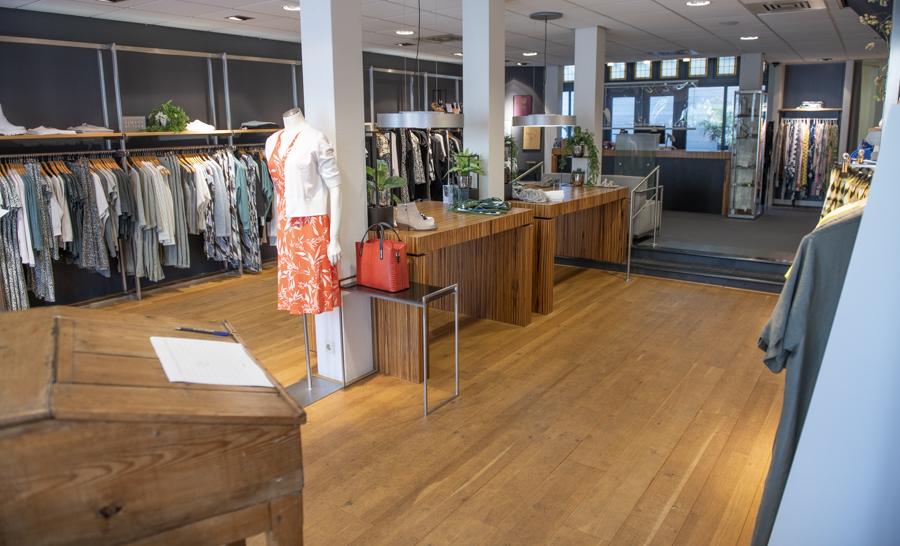 Interieur winkel Sietske Koene Mode